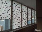 Штора рулонная для балкона