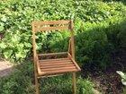 Складные стулья ручной работы