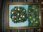 Уникальное фотографию Разное Продам картины ручной работы (вышивка лентами) 67769082 в Астрахани