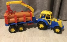Трактор лесовоз
