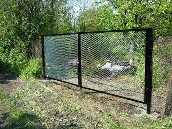 Просмотреть изображение Строительство домов Садовые калитки и ворота собственного производства 36887937 в Балаково