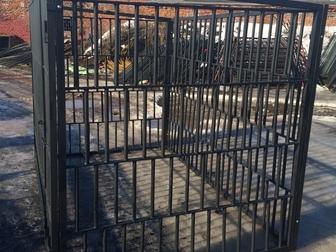 Скачать бесплатно фотографию Строительные материалы Вольеры для животных из металла 36887980 в Балаково
