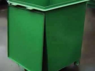 Смотреть фотографию Разное Контейнеры ТБО мусорные металлические, 0,75 литров 39230852 в Балаково