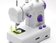 мини швейная машинка- Зимбер многооперационная Компактная двухскоростная электро