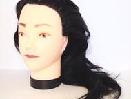 Манекен с синтетическими волосами Бесплатная доставка по России. Без предоплаты.