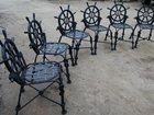 Фотография в   Креативный скульптурный стул из металлаКорабельный в Белореченске 0