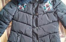 Женская зимняя куртка с капюшоном, размер 44