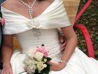 Изображение в Одежда и обувь, аксессуары Свадебные платья Продам красивое свадебное платье, цвет айвори, в Большом Камне 10000
