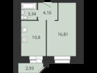 Уникальное foto Квартиры в новостройках Клары Цеткин-строящийся 16 этажный дом поз, 1 37790007 в Брянске