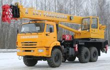 Автокран 25 тонн КС-55713-4В Галичанин
