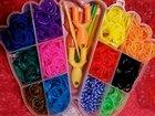 Набор резинок для плетения/причесок, крючки, рога