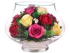 Скачать фото Другие предметы интерьера Композиция из натуральных роз (арт, LLR5c-N) 53940312 в Челябинске