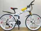 Новое фотографию  Велосипед JEEP на литых колесах, 2 амортизатора, складной 68564386 в Челябинске