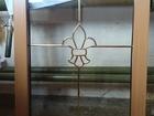Смотреть изображение Двери, окна, балконы Окно в ламинации глухарь с декоративным элементом 68812059 в Челябинске