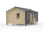 Новое фото Строительство домов Каркасный дом FINHA S40 своими руками 76441590 в Челябинске
