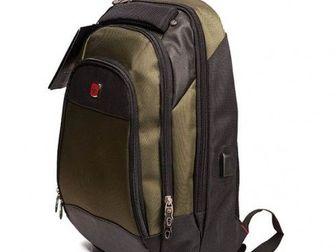 Смотреть фото Женские сумки, клатчи, рюкзаки Многофункциональный рюкзак SwissGear 1506, 53950953 в Челябинске