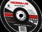 Смотреть фото  Абразивный отрезной круг HERMAN STANDART 36811732 в Дмитрове