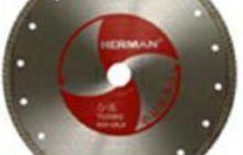 Алмазный отрезной круг Herman Turbo