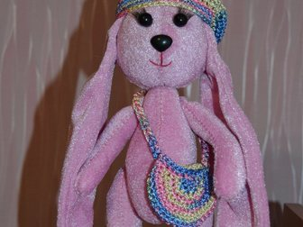 Увидеть foto Детские игрушки Бархатные зайки 32483727 в Дзержинске
