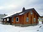Скачать фотографию  Дом из бревна оцилиндрованного, 38456239 в Екатеринбурге