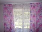 Новое фото Отделочные материалы Портьеры для детской комнаты розовые 67147061 в Екатеринбурге