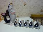 Скачать бесплатно изображение  графин штофф и 5 стопочек в виде рыбки , 82805703 в Екатеринбурге
