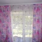 Портьеры для детской комнаты розовые
