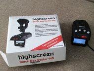 видеорегистратор- радар детектор highscreen black box radar HD. в использовании