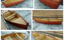 Лодка деревянная, новая, плоскодонка