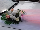 Просмотреть фото  Стильное свадебное украшение на машину 36995597 в Ельце