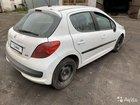 Peugeot 207 1.6AT, 2007, битый, 90000км