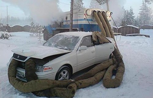 Как сделать авто теплее - Совет подруги