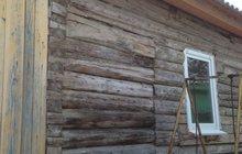 Бревенчатый уютный дом