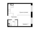 Продается евро-квартира с 1 спальней и большой кухней-гостин