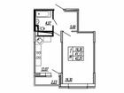 Продается однокомнатная квартира в г. Щербинка. Развитая инф