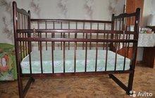 Кроватка детская  матрац ортопедический