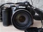 Фото в   Продам фотоаппарат Nikon Coolpix P510 Black. в Ишиме 8200