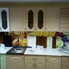 Кухонный гарнитур береза1.5М мдф(стол в подарок)