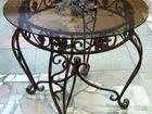 Фото в Мебель и интерьер Столы, кресла, стулья Кованый стол - это символ роскоши, элегантности в Ижевске 19000