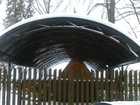 Фото в Строительство и ремонт Другие строительные услуги Крытые стоянки для автомобилей из металокончтрукций, в Ижевске 0