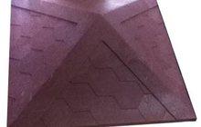 Колпак на столб полимерпесчаный