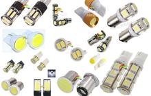 Светодиодные лампы для подсветки салона