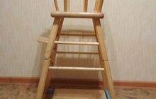 Детский стул-стол деревянный