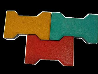 Просмотреть foto  ТРотуарная резиновая плитка и резиновая брусчатка 33416555 в Ижевске