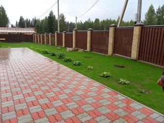 Просмотреть изображение  ТРотуарная резиновая плитка и резиновая брусчатка 33416555 в Ижевске