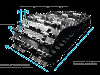 Скачать бесплатно фото  Резиновые гусеницы для Корейских и Японских Экскаваторов и снегоходов, 42820736 в Ижевске