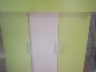 Шкаф для вещей, кровать и стол с полками,  Состояние отличноеСостояние: Б/у в Ижевске