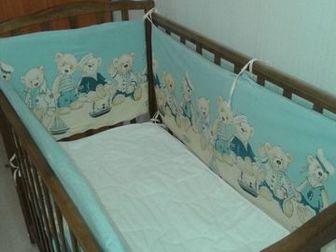 Кроватка детская Кристина,  В хорошем состоянии, маятниковый механизм, продольного качания с фиксатором, материал береза, тщательно отшлифована, производство Можга, в Ижевске