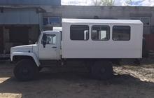 Вахтовый автобус ГАЗ Садко с дизельным двигателем