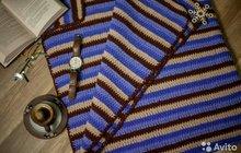 Плед вязаный (handmade)